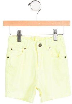 Stella McCartney Boys' Mid-Rise Neon Shorts
