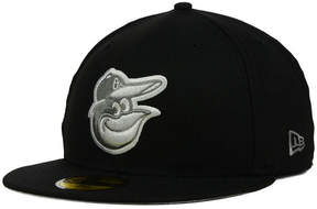 New Era Baltimore Orioles Graphite 59FIFTY Cap