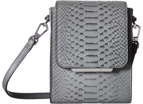 KENDALL + KYLIE Violet Snake Shoulder Handbags
