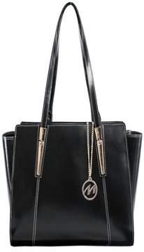 McKlein McKleinUSA ALDORA, Ladies' Tote with Tablet Pocket, Top Grain Cowhide Leather, Black (97505)