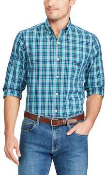 Chaps Big & Tall Regular-Fit Stretch Button-Down Shirt