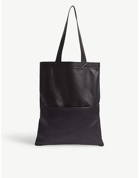 Rick Owens Sisyphus small leather tote