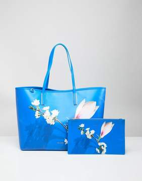 Ted Baker Coated Tote Bag in Harmony Floral