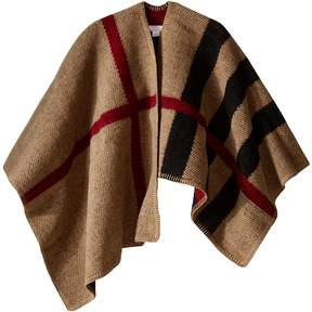 Burberry Check Cape