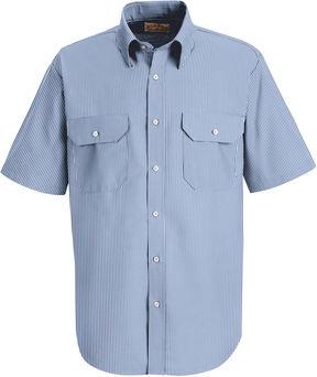 JCPenney Red Kap Deluxe Uniform Shirt-Big & Tall