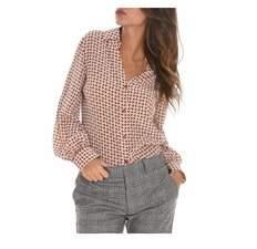 Altea Women's Pink Silk Shirt.
