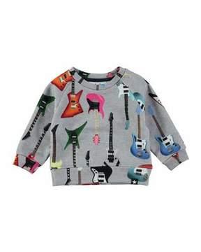 Molo Dayne Guitar Sweatshirt, Size 12-24 Months