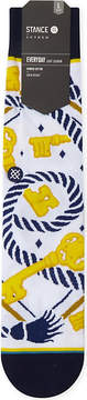 Boy London St.Chaning key print cotton-blend socks