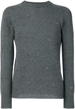 Dondup holes detail sweatshirt