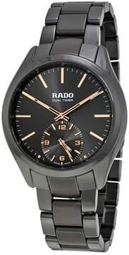 Rado Hyperchrome Dual Timer XL Touch Grey Ceramic Men's Watch