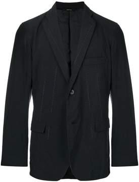 Issey Miyake stitch detail blazer
