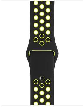 Apple 38mm Black/Volt Nike Sport Band
