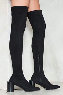 Nasty Gal nastygal The Edge of Glory Thigh-High Boot