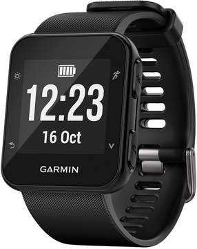 Garmin Unisex Forerunner 35 Black Silicone Strap Gps Running Smart Watch 24mm 010-01689-00