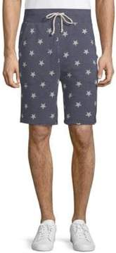Alternative Star-Print Drawstring Shorts