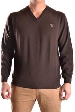 Gant Men's Brown Wool Sweater.