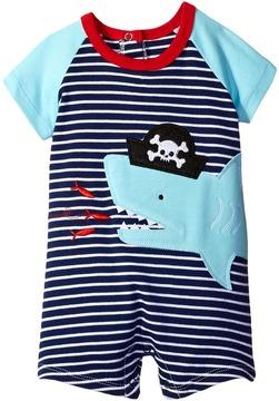 Mud Pie Pirate Shark One-Piece (Infant)
