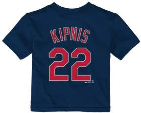 Majestic Baby Cleveland Indians Jason Kipnis Name and Number Tee