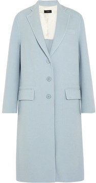 Joseph Simo Wool And Cashmere-blend Coat - Sky blue