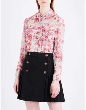The Kooples Lili of the Valley silk shirt
