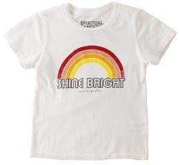 Spiritual Gangster Toddler Retro Rainbow Tee 8156424