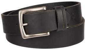Columbia Men's Beveled Bridle Leather Belt