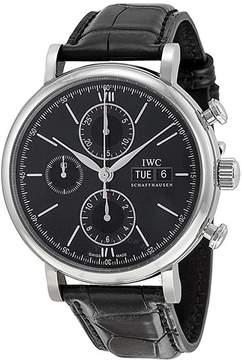 IWC Portofino Automatic Chronograph Black Dial Men's Watch