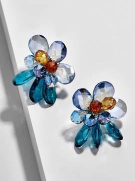 BaubleBar Delphinium Clip On Earrings
