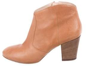 Club Monaco Leather Ankle Boots