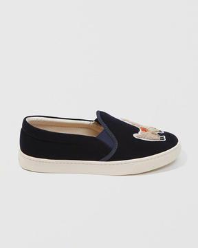 Abercrombie & Fitch Soludos Velvet Llama Sneaker