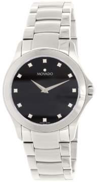 Movado Men's Masino 0606185 Silver Stainless-Steel Swiss Quartz Watch