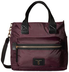 Marc Jacobs Nylon Biker Babybag Handbags - BLACK - STYLE