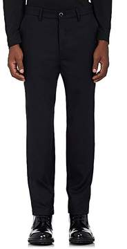 Barena Venezia Men's Stretch-Wool Flat-Front Trousers
