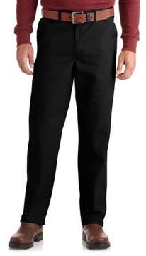 Dickies Genuine Men's Flat-Front Comfort Waist Pants