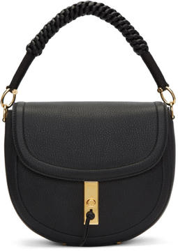 Altuzarra Black Suede Medium Ghianda Bag