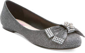 Betsey Johnson Emy Bow Flats Women's Shoes