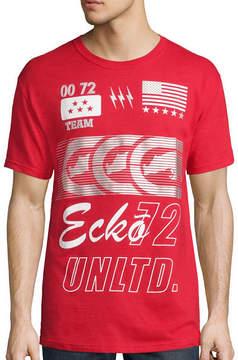 Ecko Unlimited Unltd. Short-Sleeve Sponsorship Tee