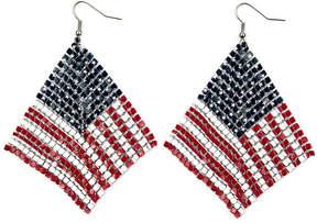 Arizona Mesh Flag Earrings