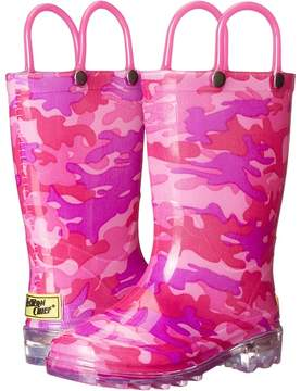 Western Chief Neo Camo Lighted Girls Shoes