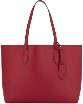 Burberry Haymarket check medium reversible leather tote - POPPY RED - STYLE