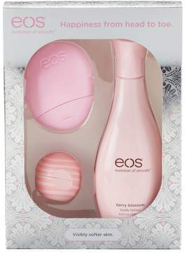 EOS Berry Blossom 3-pc. Gift Set