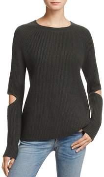 Aqua Cashmere Slash-Elbow Sweater - 100% Exclusive