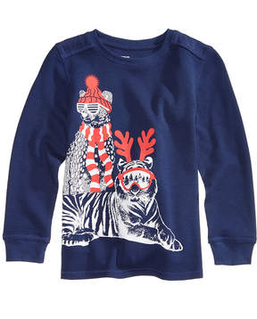 Epic Threads Cool-Cat Graphic-Print Thermal, Little Boys (4-7), Created for Macy's