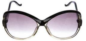 Balenciaga Oversize Butterfly Sunglasses
