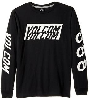 Volcom Chopper Long Sleeve Tee Boy's T Shirt
