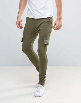 ONLY & SONS Skinny Fit Cargo Pant in Sweat