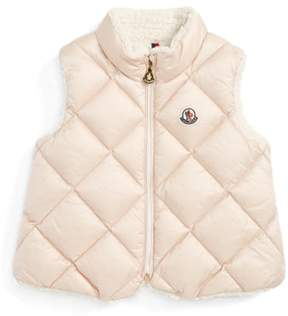 Moncler Ysaline Down & Fleece Lined Vest