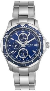 DAY Birger et Mikkelsen Armitron Men's Blue Dial Stainless Steel Date Watch