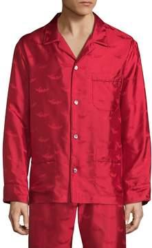 La Perla Men's Silk Pajama Top