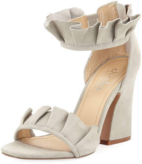 Charles by Charles David Haley Suede Ruffle Sandal